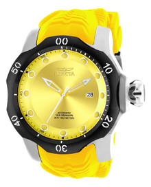 Invicta Men's 19301 Venom Automatic 3 Hand Yellow Dial Watch
