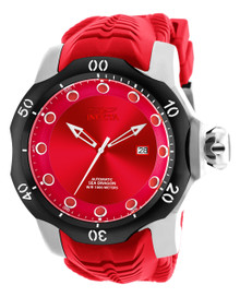 Invicta Men's 19302 Venom Automatic 3 Hand Red Dial Watch
