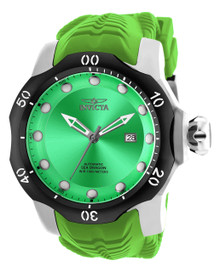 Invicta Men's 19307 Venom Automatic 3 Hand Green Dial Watch