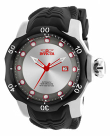 Invicta Men's 19308 Venom Automatic 3 Hand Gunmetal, Antique Silver Dial Watch