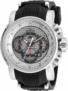 Invicta Men's 19318 S1 Rally Quartz Multifunction Silver Dial Watch