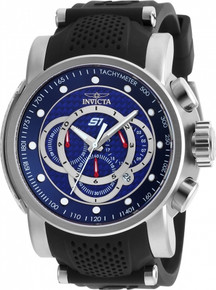 Invicta Men's 19320 S1 Rally Quartz Multifunction Blue Dial Watch