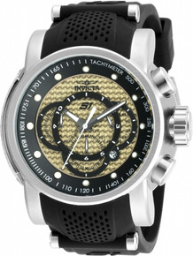 Invicta Men's 19321 S1 Rally Quartz Multifunction Ivory Dial Watch