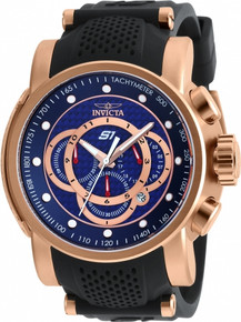 Invicta Men's 19333 S1 Rally Quartz Multifunction Blue Dial Watch