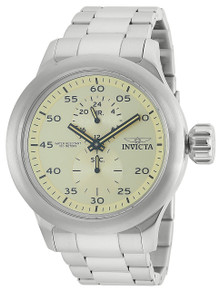 Invicta Men's 19493 Russian Diver Quartz Chronograph Ivory Dial Watch