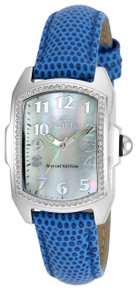 Invicta Women's 19520 Lupah Quartz 3 Hand White Dial Watch