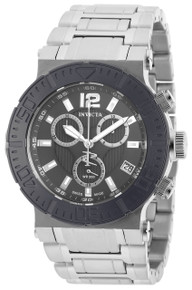 Invicta Men's 19597 Reserve Quartz Chronograph Grey Dial Watch