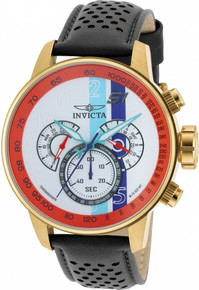 Invicta Men's 19901 S1 Rally Quartz Multifunction Blue, White, Orange, Purple Dial Watch