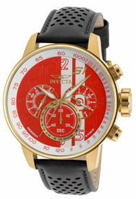 Invicta Men's 19907 S1 Rally Quartz Multifunction White, Red Dial Watch