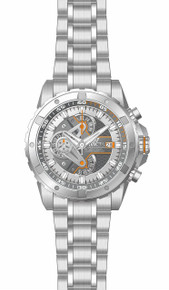Invicta Men's 20089 S1 Rally Quartz Multifunction Silver, Gunmetal Dial Watch