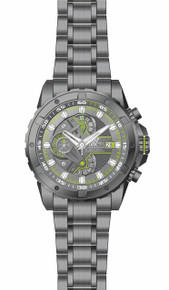 Invicta Men's 20091 S1 Rally Quartz Multifunction Gunmetal Dial Watch