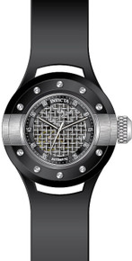 Invicta Men's 20101 S1 Rally Automatic 3 Hand Black, Silver Dial Watch