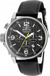 Invicta Men's 20129 I-Force Quartz Chronograph Black Dial Watch