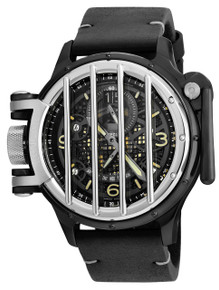 Invicta Men's 20257 Vintage Quartz Multifunction Black Dial Watch