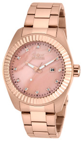 Invicta Men's 20356 Specialty Quartz 3 Hand Rose Gold Dial Watch