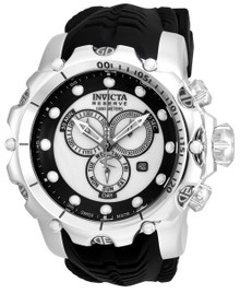 Invicta Men's 20395 Venom Quartz Chronograph Black, White Dial Watch