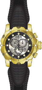 Invicta Men's 20400 Venom Quartz Chronograph Black, White Dial Watch