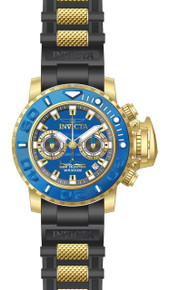 Invicta Men's 20476 Sea Hunter Quartz Multifunction Blue Dial Watch