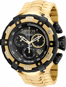 Invicta Men's 21360 Bolt Quartz Chronograph Black Dial Watch