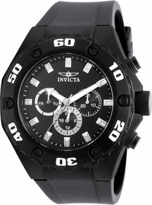 Invicta Men's 21459 Specialty Quartz Multifunction Black Dial Watch