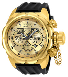 Invicta Men's 21628 Russian Diver Quartz Multifunction Gold Dial Watch