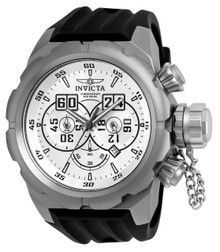 Invicta Men's 21633 Russian Diver Quartz Multifunction Silver Dial Watch