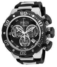 Invicta Men's 21639 Reserve Quartz Chronograph Black Dial Watch