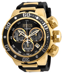 Invicta Men's 21642 Reserve Quartz Chronograph Black, Grey Dial Watch