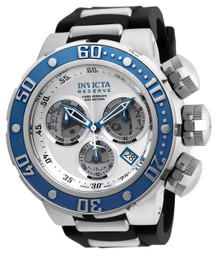 Invicta Men's 21644 Reserve Quartz Chronograph Silver, Grey Dial Watch