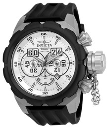 Invicta Men's 21677 Russian Diver Quartz Multifunction Silver Dial Watch