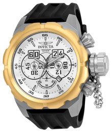 Invicta Men's 21678 Russian Diver Quartz Multifunction Silver Dial Watch