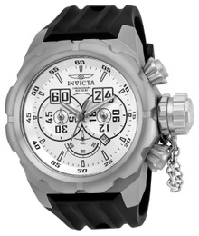 Invicta Men's 21680 Russian Diver Quartz Multifunction Silver Dial Watch