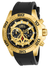 Invicta Men's 21738 Aviator Quartz Multifunction Black Dial Watch
