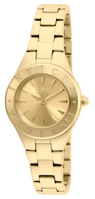 Invicta Women's 21743 Wildflower Quartz 3 Hand Gold Dial Watch