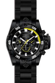 Invicta Men's 21782 Corduba Quartz Chronograph Black, Yellow Dial Watch