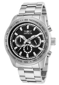 Invicta Men's 21793 Speedway Quartz Chronograph Black Dial Watch