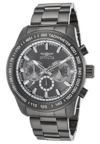 Invicta Men's 21800 Speedway Quartz Chronograph Grey Dial Watch