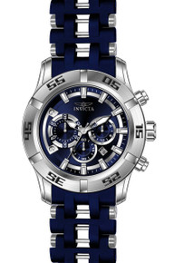 Invicta Men's 21817 Sea Spider Quartz Chronograph Blue Dial Watch