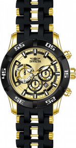 Invicta Men's 21819 Sea Spider Quartz Chronograph Gold Dial Watch