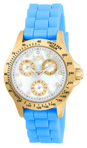 Invicta Women's 21979 Speedway Quartz Chronograph White Dial Watch