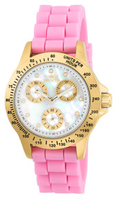 Invicta Women's 21982 Speedway Quartz Chronograph White Dial Watch