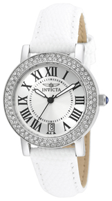 Invicta Women's 21996 Angel Quartz Chronograph Silver Dial Watch