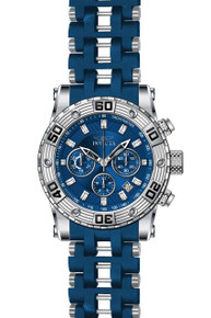 Invicta Men's 22087 Sea Spider Quartz Chronograph Blue Dial Watch