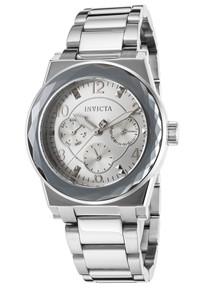Invicta Women's 22107 Angel Quartz Chronograph Silver Dial Watch