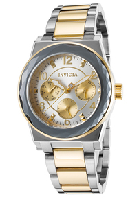 Invicta Women's 22108 Angel Quartz Chronograph Silver Dial Watch