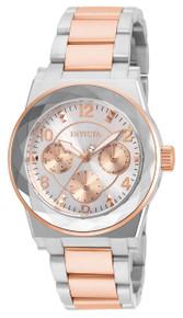 Invicta Women's 22109 Angel Quartz Chronograph Silver Dial Watch