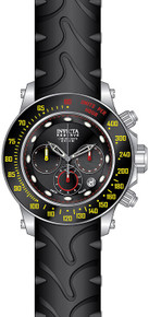 Invicta Men's 22142 Reserve Quartz Chronograph Black Dial Watch