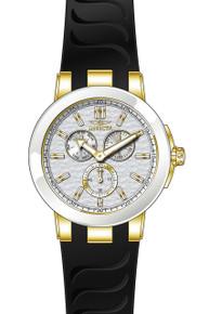 Invicta Men's 22211 Ceramics Quartz Chronograph Silver Dial Watch