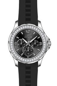Invicta Women's 22469 Angel Quartz Chronograph Black Dial Watch
