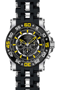 Invicta Men's 22473 Sea Spider Quartz Chronograph Black Dial Watch